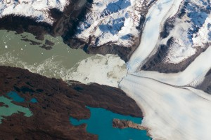 Glacier from the Space