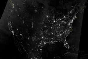 Lights Across the Unites States