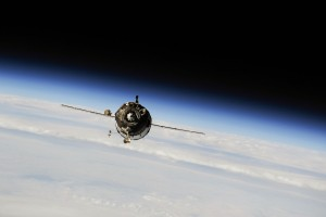 Soyuz Approaches the ISS