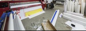 Large format printing materials
